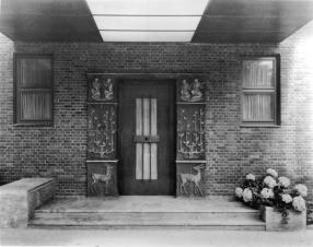 Landhaus Frank entry