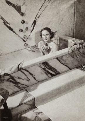 J.M. Frank's bathtub