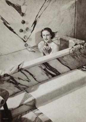 J.M. Frank's bathtub