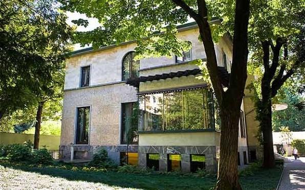 Villa Necchi exteriore