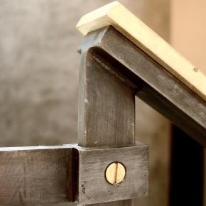 bronze handrail